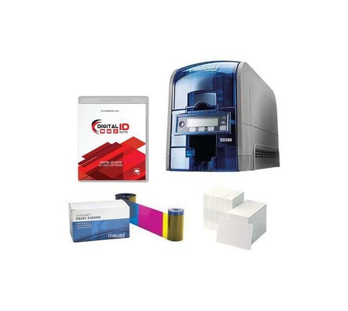 Datacard SD260 Single-Sided PVC ID Card Printer