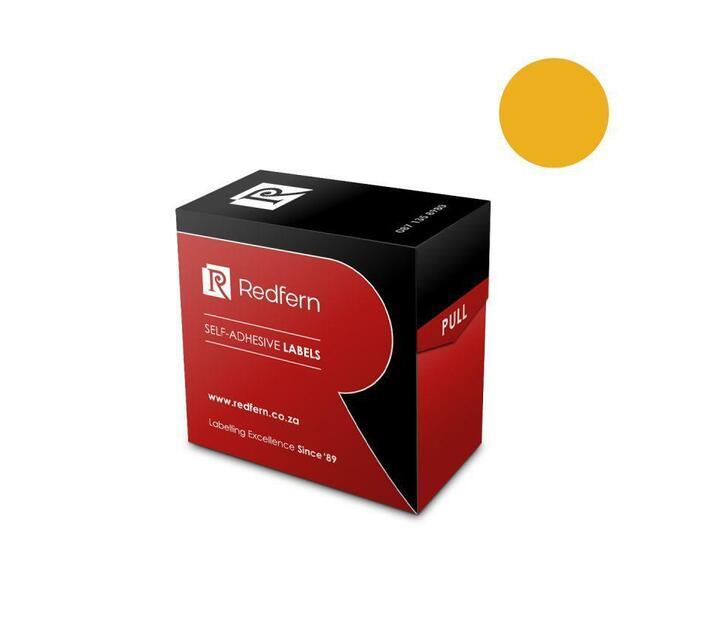 Redfern Self-Adhesive Colour Codes - C13 Flu Orange
