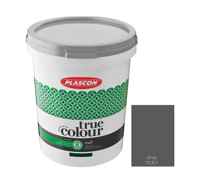 Plascon 5 l True Colour Roof Grey