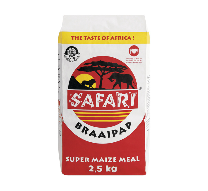 SAFARI BraaiPap (1 x 2.5kg)