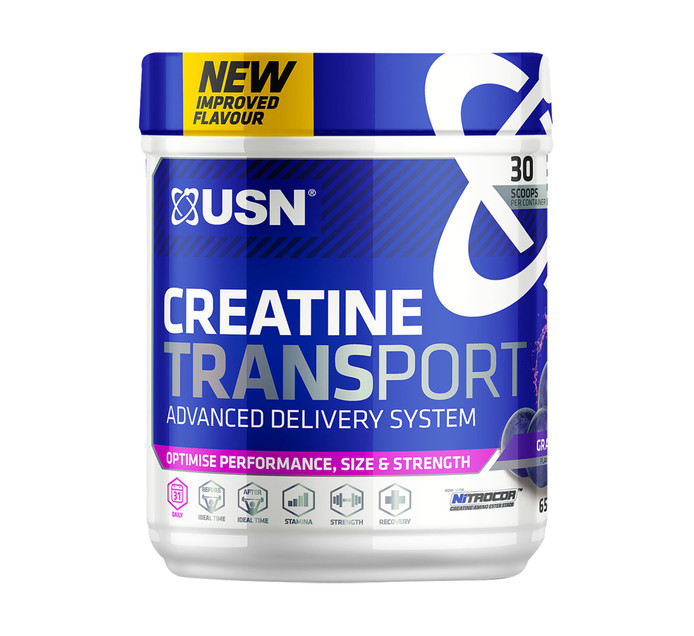USN CREATINE TRANSPORT SYS GRAPE 650G
