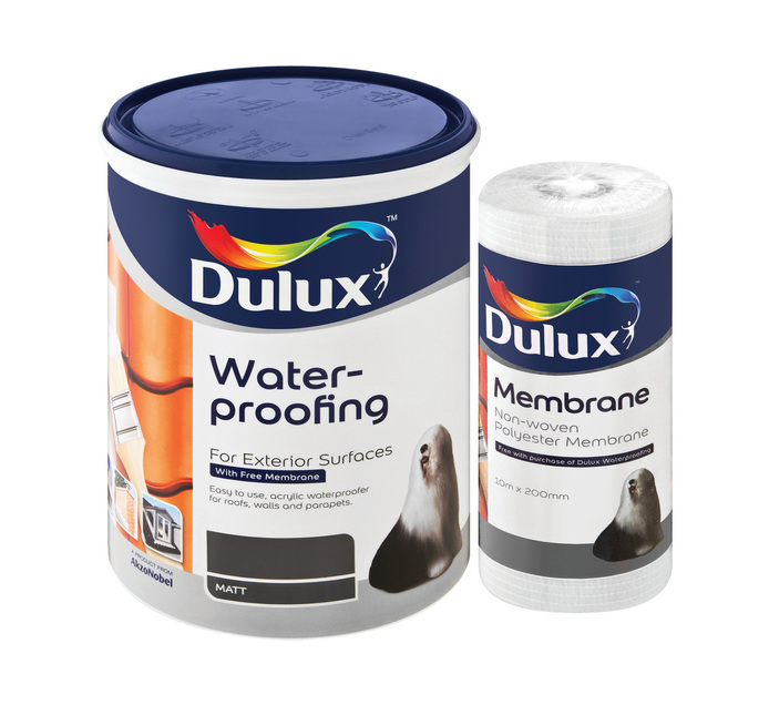 Dulux 5 l Dulux Waterproofing CHARCOAL