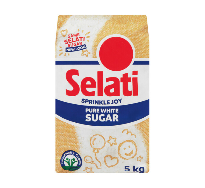 SELATI White Sugar (1 x 5kg)