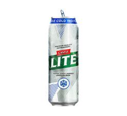 Castle Lite Beer Cans (24 x 410 ml)