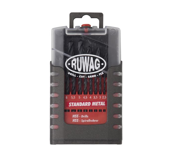 Ruwag 19 PC Metal Drill Bit Set