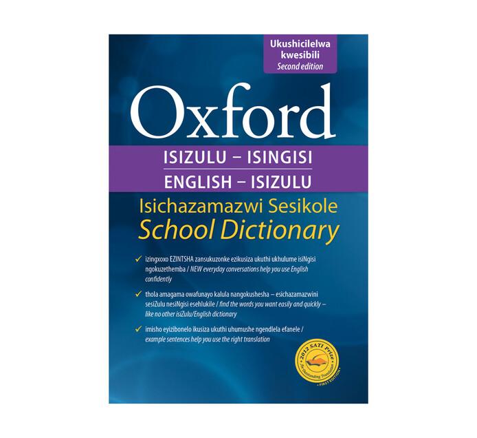 Oxford English & Isixhosa Dictionary