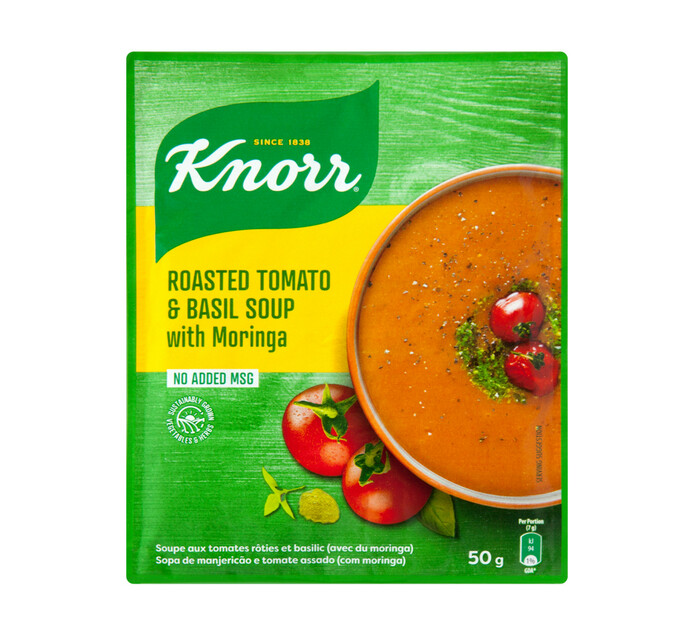 Knorr Packet Soup Roasted Tomato And Basil (10 x 50g)