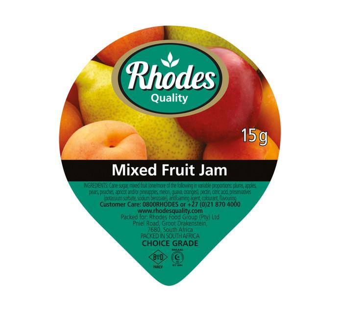 Rhodes Jam Portions Mixed Fruit (200 x 15g)
