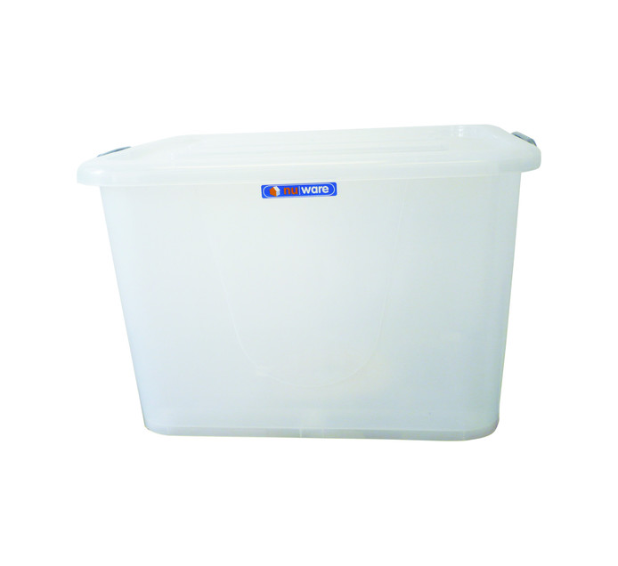 STORE 'N STAK CONTAINER CLEAR 150L