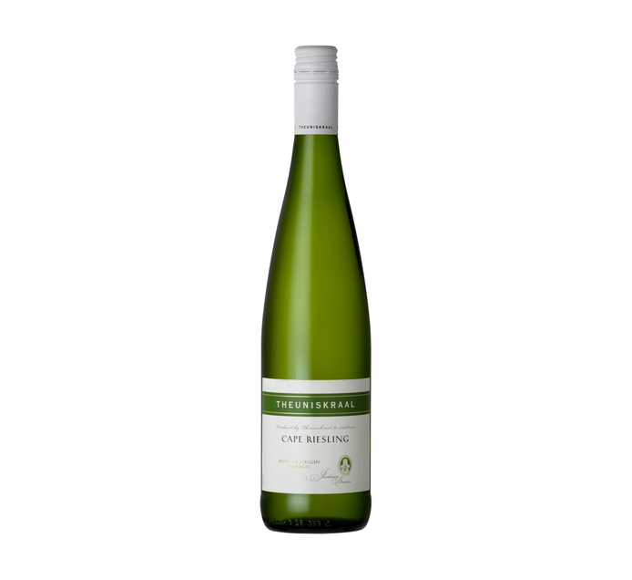 Theuniskraal Cape Riesling (1 x 750ml)