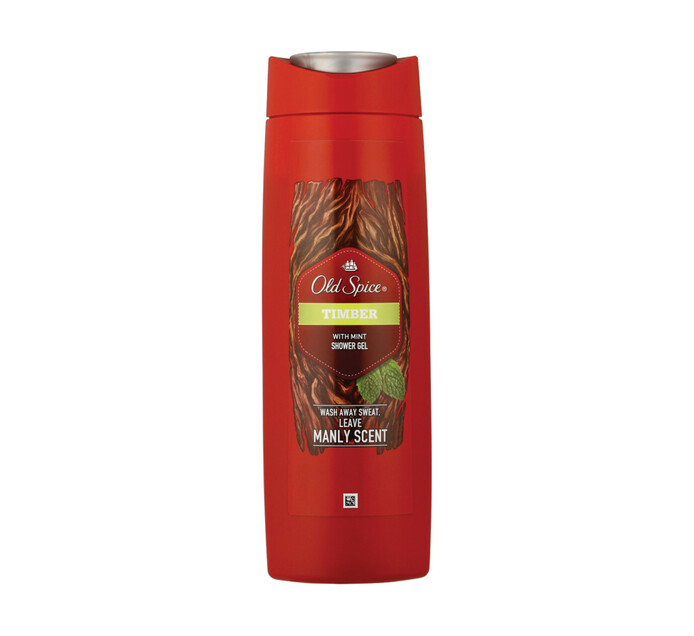 Old Spice Shower Gel Timber (6 x 400ml)