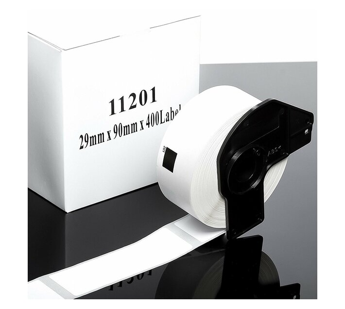 11201 Standard Address Thermal Labels (Generic)   29mm × 90mm   Brother DK11201 Replacement