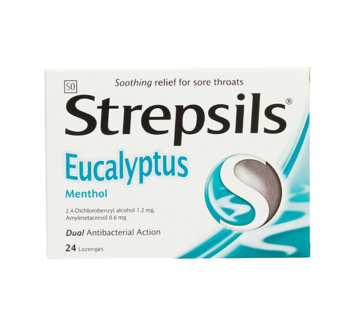 Strepsils Lozenges Eucalyptus (1 x 24's)