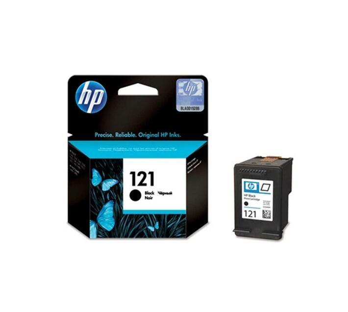 HP 121 Black original ink cartridge for Deskjet D1663, D2530, D2563