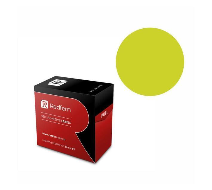 Redfern Self-Adhesive Colour Codes - C32 Flu Green
