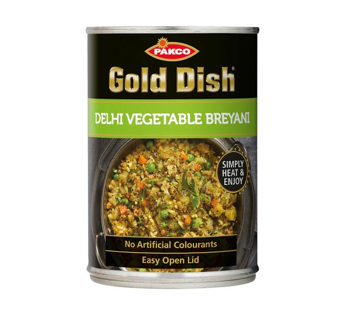 Gold Dish Breyani Delhi Veg Currie (1 x 380g)