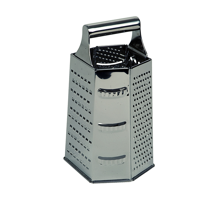Chef & Co Six Sided Grater Stainless Steel
