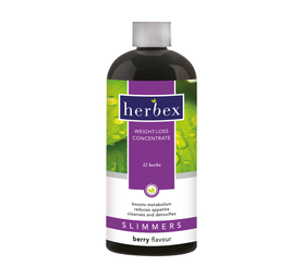 HERBEX 400ml Slimmers Concentrate Berry