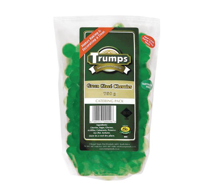 TRUMPS GREEN CHERRIES 750G