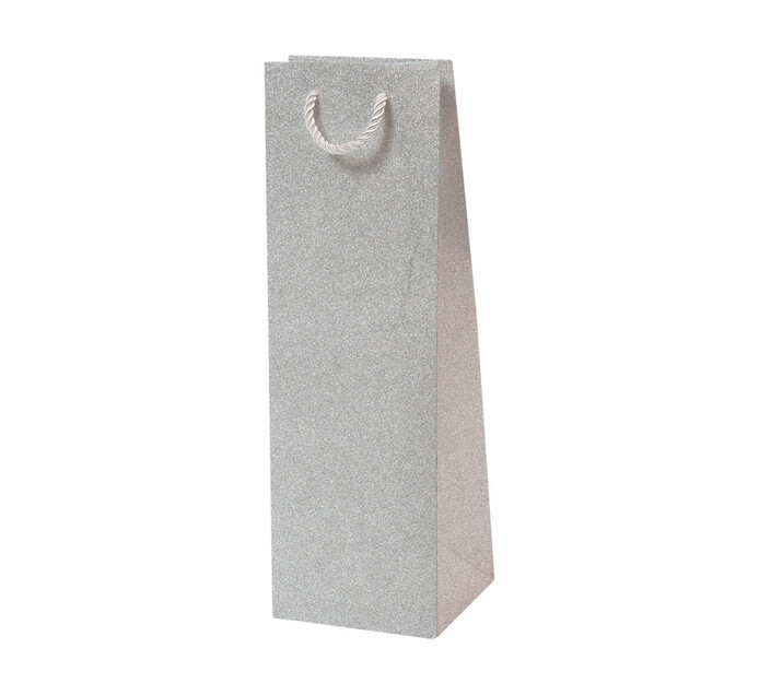 Creative 110x100x340mm Glitter Bottle Bag