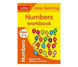 Collins Easy Learning Preschool: Numbers Workbook Ages 3-5: Prepare for Preschool with Easy Home Learning (Paperback / softback)