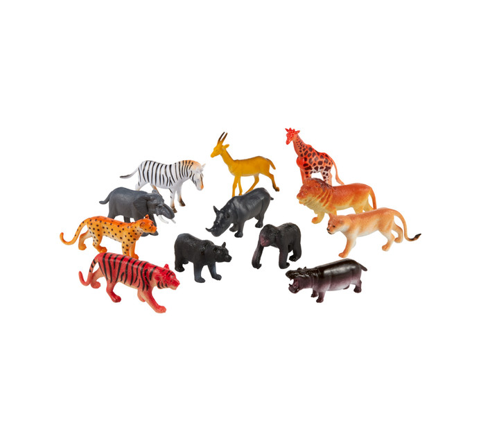 12-Pack Wild Animals In a Bag