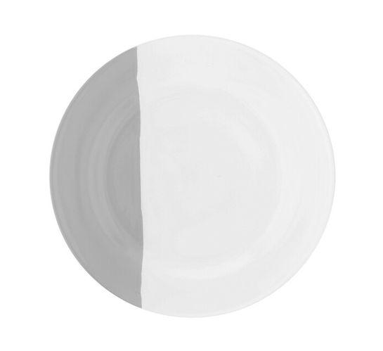 19 cm Fresh Half Tone Side Plate