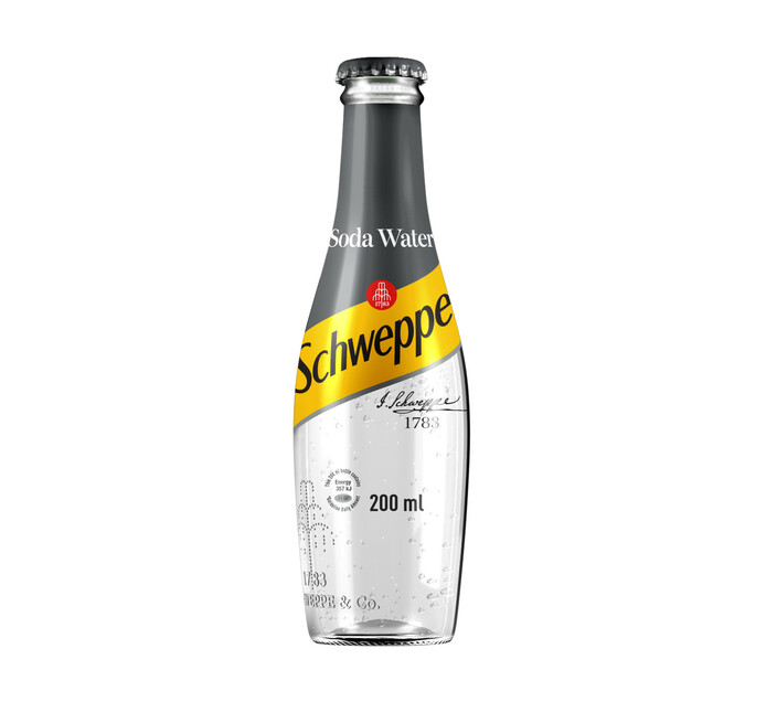 Coca Cola Soft Drink Soda Water (4 x 200ml)