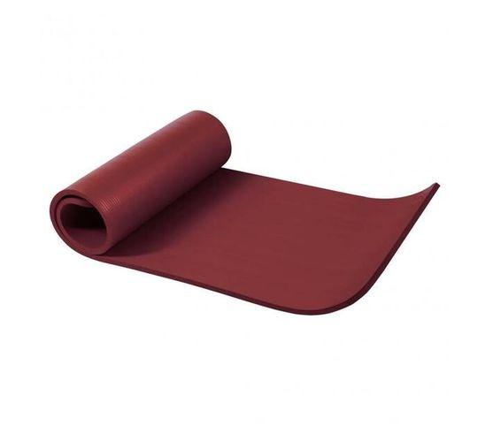 GORILLA SPORTS SA - Deluxe NBR Yoga Mat Ruby 190x60x1.5cm