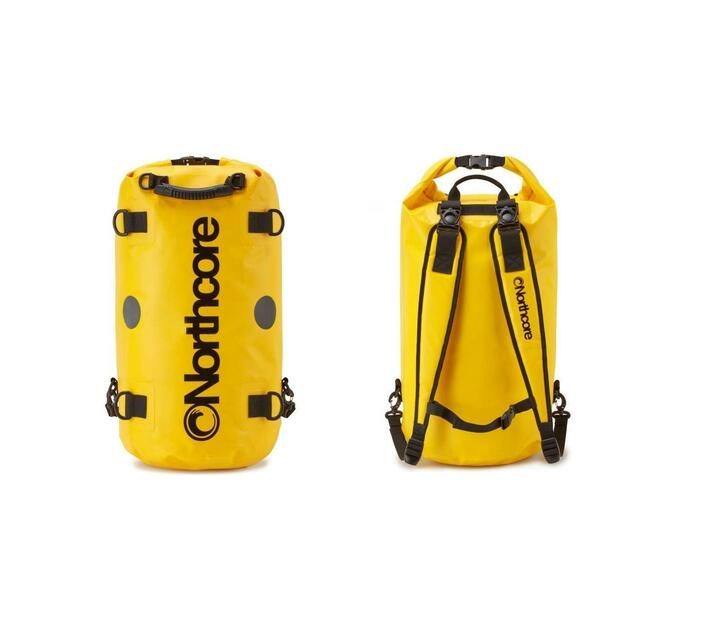 Northcore 40L Dry Bag Backpack - Yellow