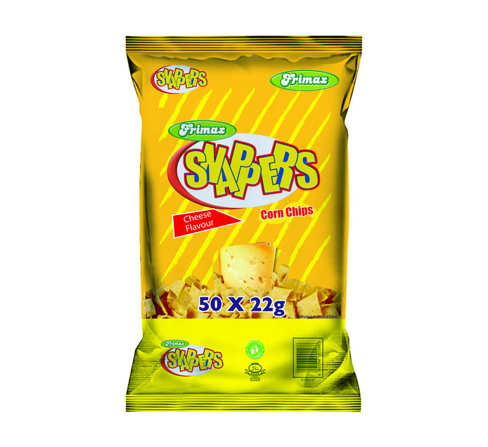 Frimax Snapper Corn Chips Balers Cheese (1 x 50's)