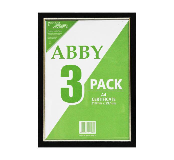 210 x 297 mm Abby Frames 3-Pack
