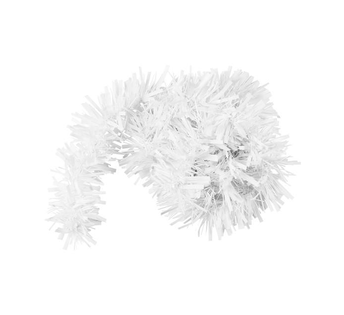 St Nicholas 2m White Chunky Tinsel