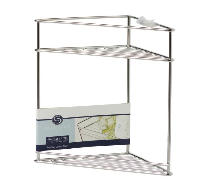 Steelcraft Corner Shelf Two Tier