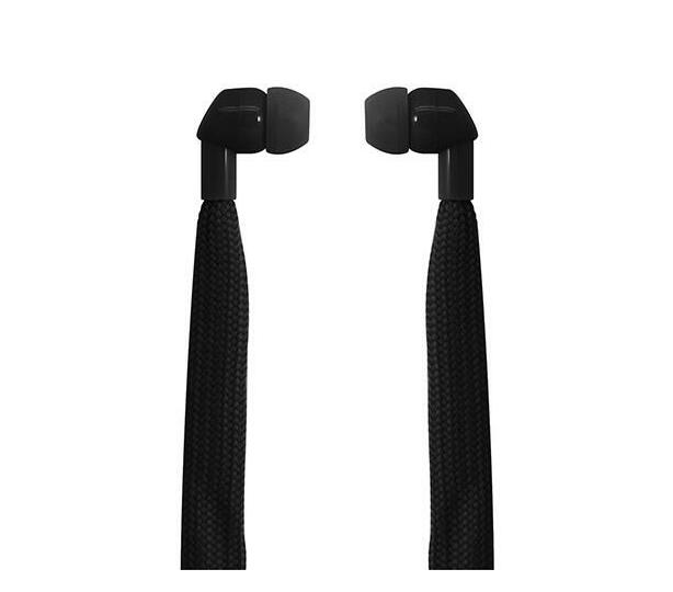 Polaroid Shoelace Earbuds- Black