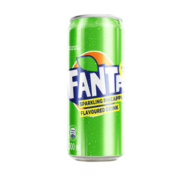 FANTA Soft Drink Can Pineapple (6 x 300ml)