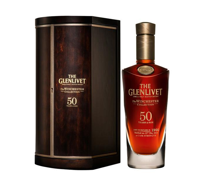The Glenlivet 50 YO Winchester Collection Speyside Single Malt Scotch Whisky (1 x 750 ml)