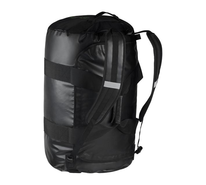Volkano Athletic Series Duffel Bag Backpack in Black with Adjustable Shoulder Straps