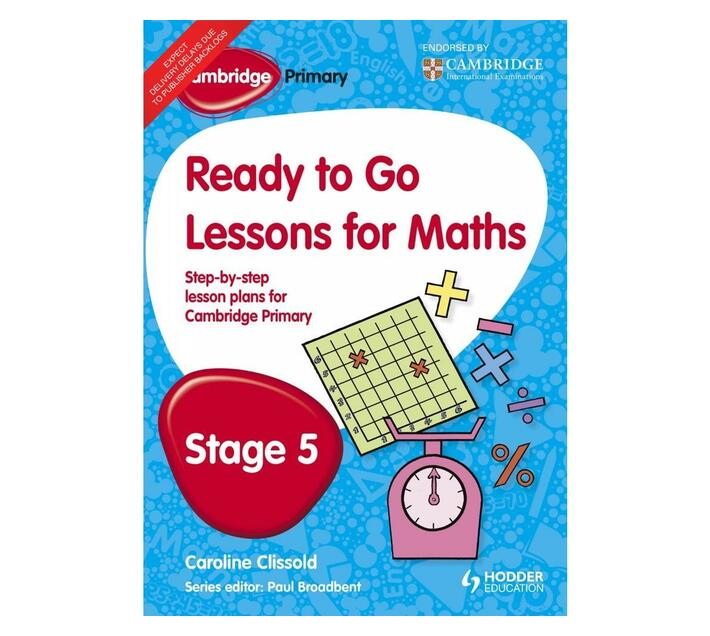 Cambridge Primary Ready to Go Lessons for Mathematics Stage 5