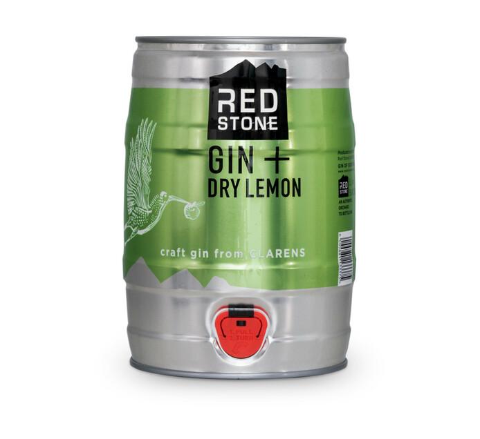 Red Stone Gin & Dry Lemon (1 x 5L)