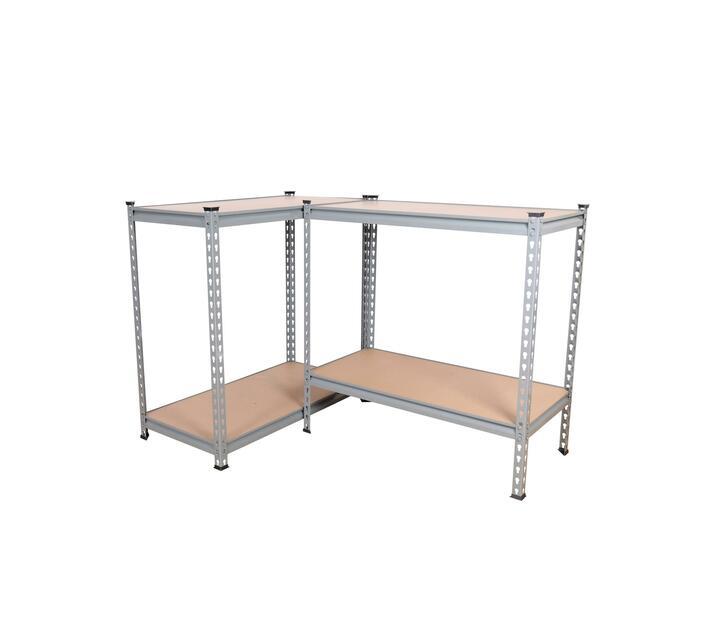 Shelving Unit - 4 Tier - Grey - 900 x 400 x 1800mm