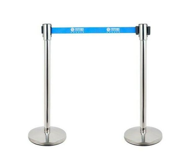Stanchion or retractable Belt barrier for Queuing system (2 in a box)
