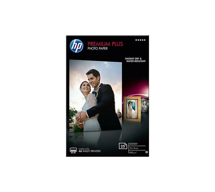 HP Premium Plus Photo Paper Glossy photo paper 100 x 150 mm 300 g/m²