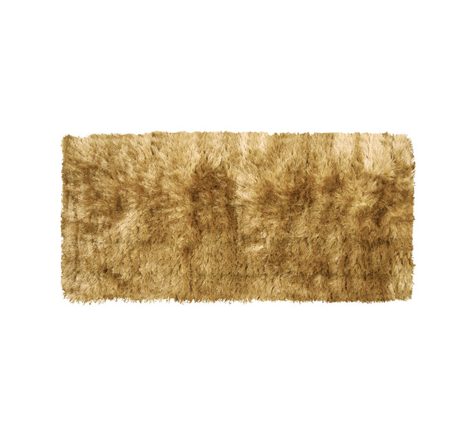 Home Living 60 x 140 cm Shaggy Rug Taupe