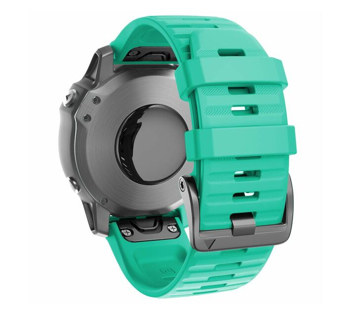 Replacement Silicone Band for Fenix 6X(26mm) - Teal