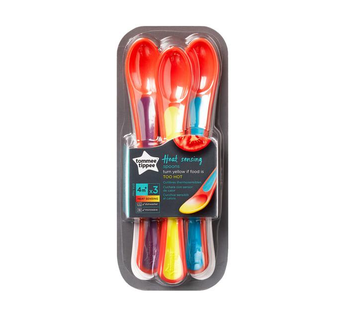 Tommee Tippee 4 Months+ 3's Explora Heat Sensing Spoon