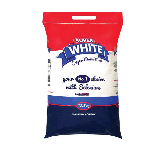 BATHO BOTLHE Super White Maize Meal (1 x 12.5kg)