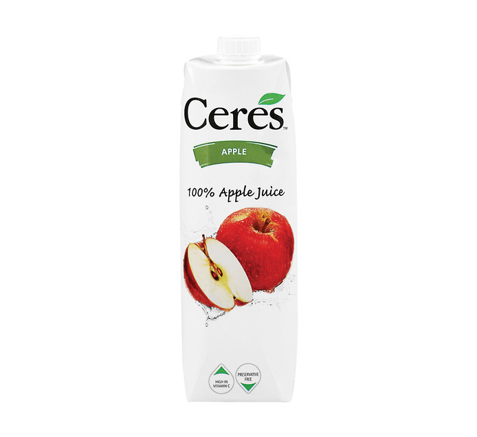 Ceres Fruit Juice Apple (12 x 1L)