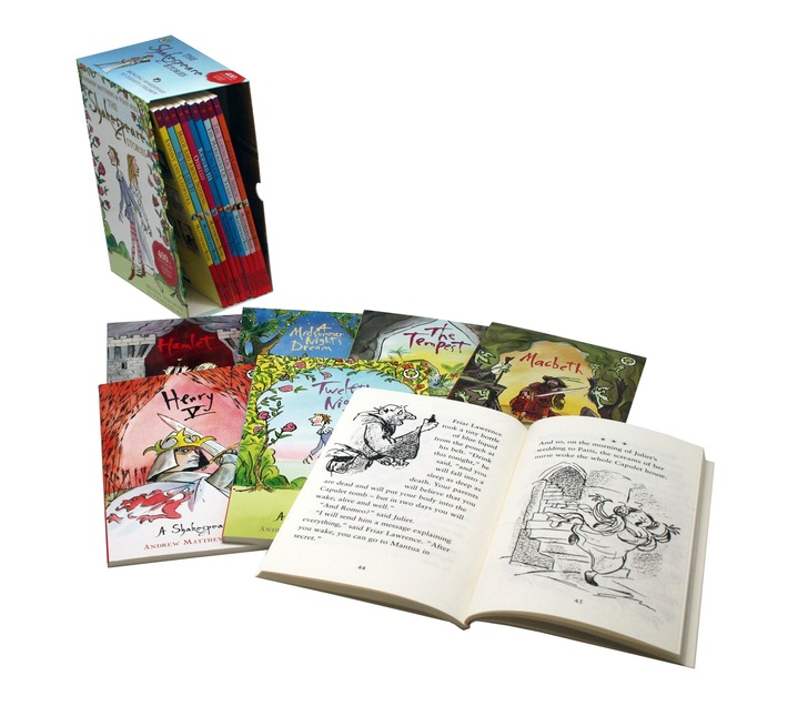 Shakespeare Stories 16 Book Boxset