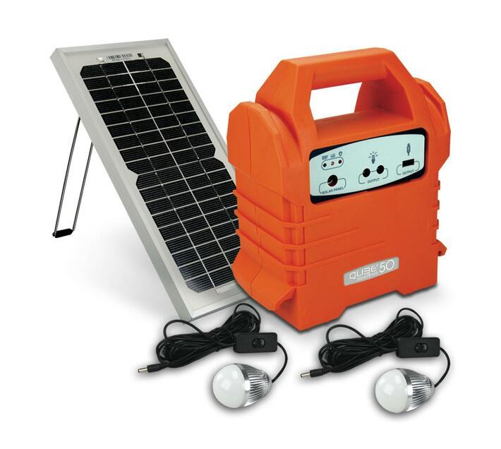 Ecoboxx Qube 50 Portable Solar Kit